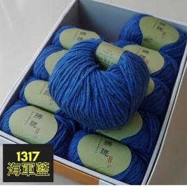 九色鹿拂曉大衣線-海軍藍