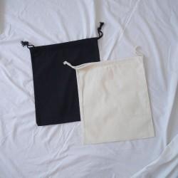 帆布束口袋(黑/本)