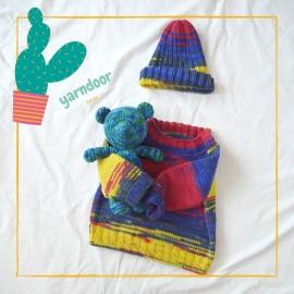 織圖免費分享|馬卡龍拉克蘭毛衣