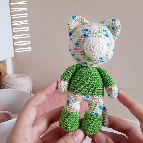 織圖免費分享 碎花基本款娃娃