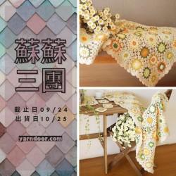 蘇蘇三團-森系輕風小雛菊