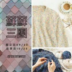 蘇蘇三團-點彩新手毛衣